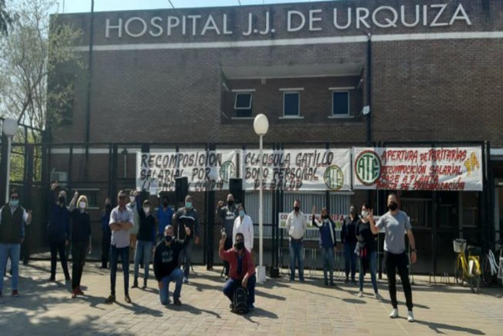 ATE suspendió el paro de Salud y acata la audiencia de conciliación