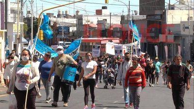 Organizaciones sociales marcharon en Paraná