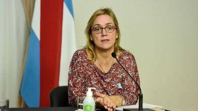 """Carina Reh: """"Estamos en un momento clave y complicado en la situación epidemiológica de la provincia"""""""