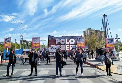 Organizaciones sociales protestaron en Córdoba por el desalojo en Guernica