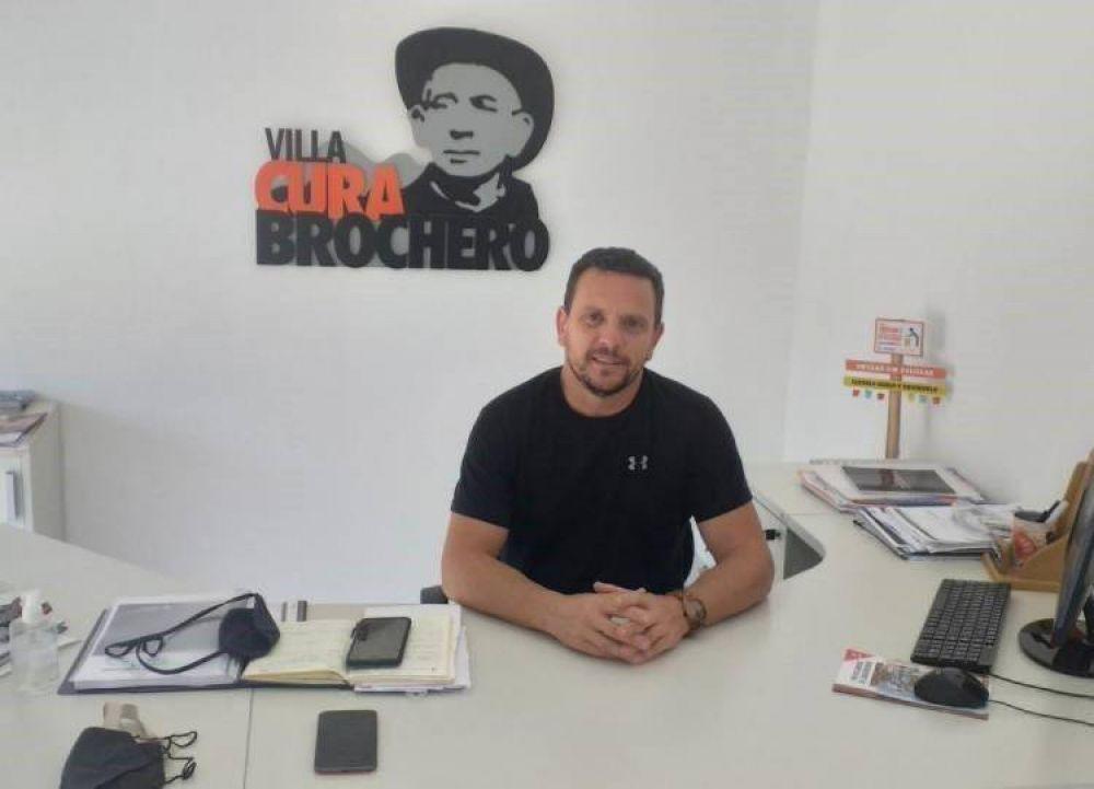 Villa Cura Brochero preparado para la temporada