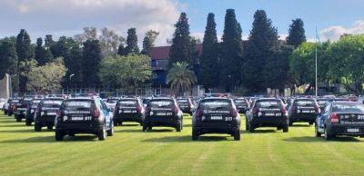 Lomas de Zamora: este viernes entregarán 100 patrulleros y esperan la visita de Alberto Fernández