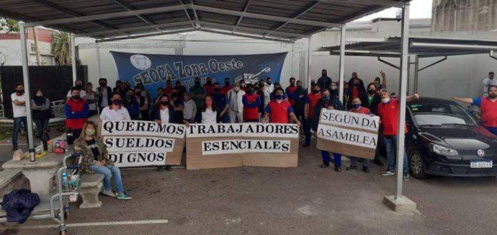 """""""La dignidad de los trabajadores y el salario, no lo regalaremos nunca"""""""