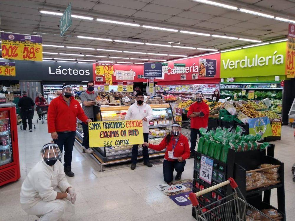 Cavalieri abre la tranquera y masifica las asambleas para que los supermercados paguen el bono de 5 mil pesos