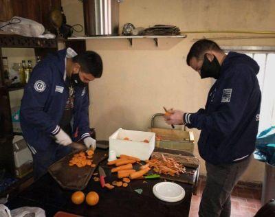 La Juventud Sindical de la FeMPINRA en la primera línea de combate contra el hambre y la pandemia