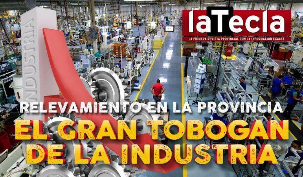 El gran tobogán de la industria bonaerense