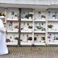 Francisco celebrará la misa por los fieles difuntos en el Cementerio Teutónico