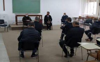 Mons. Mestre se reunió con referentes de sectores laborales marplatenses