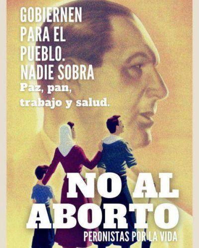 PeronistasXlaVida: Nuestro Pueblo valora la vida y la dignidad humana
