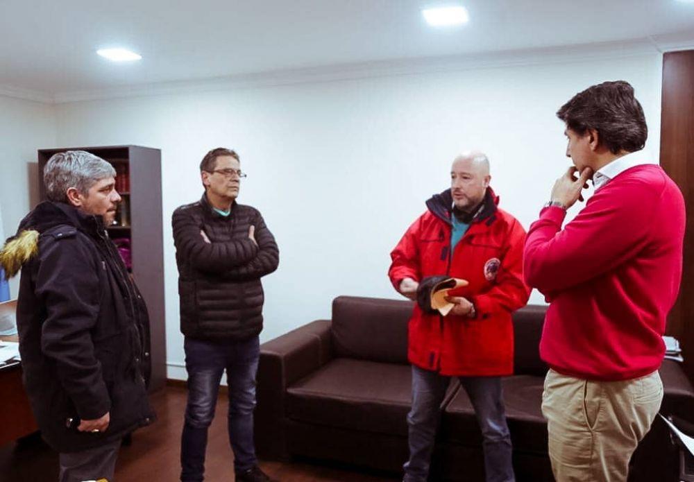 Gobierno pagó la primera cuota de anticipo económico acordado con la Asociación de Bomberos Voluntarios Ushuaia
