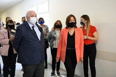 Catriel: Arabela y Ginés visitaron el nuevo hospital