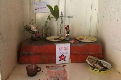 Etchevehere: cómo encontró la casa del campo usurpado, la sorpresa por un altar y lo que falta