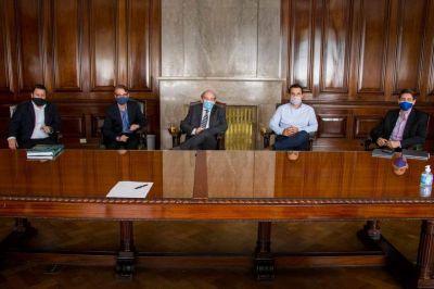 Darío Martínez y Sergio Affronti recibieron a la Federación de Cámaras de Energía de Neuquén