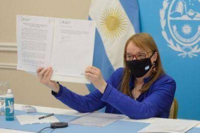 Gobierno firmó un convenio con el Ministerio de las Mujeres, Géneros y Diversidades de la Nación