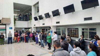 La asamblea hospitalaria presentará un petitorio en Casa de Gobierno pidiendo aumento urgente