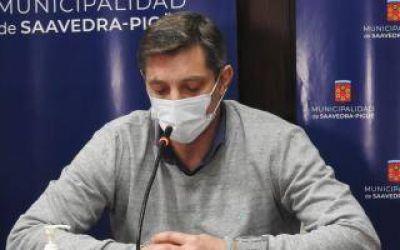 El Intendente de Saavedra confirmó que tiene coronavirus: