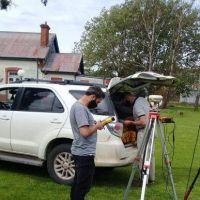 Gonzáles Chaves: se iniciaron los estudios de suelo para las cloacas en De la Garma