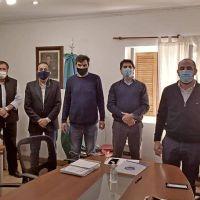 El intendente Federico se reunió con autoridades del Ministerio de Seguridad bonaerense