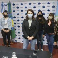 Moreno: la intendenta presentó el nuevo spot de sensibilización junto a promotoras de género