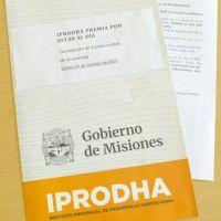 IPRODHA vuelve a premiar a los que tienen la cuota al día