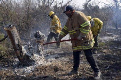 Santiago del Estero: Un incendio afectó 300 hectáreas