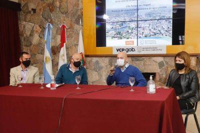 Carlos Paz: confirmaron que Villa Parque San Miguel contará con servicio de agua potable
