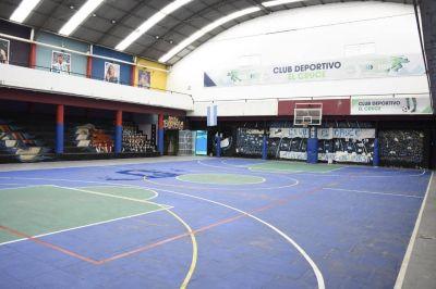 Nardini visitó el Club Deportivo El Cruce de Los Polvorines