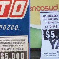 Merlo: estalló conflicto laboral en Coto, Vea y Carrefour