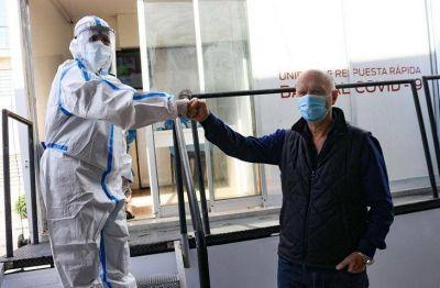 Grindetti supervisó el comienzo de la campaña contra el dengue en Lanús