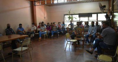 San Pedro: manifestación en la municipalidad por cierre de un camino