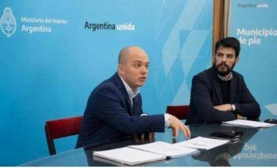 """Zurro y Giles adelantaron que en 2021 habrá """"una inyección presupuestaria"""" para municipios"""