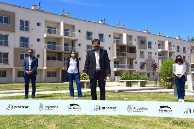 San Martín inauguró un desarrollo urbanístico Procrear con 335 viviendas
