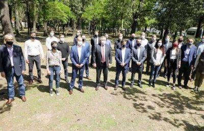 Ferraresi acompañó al presidente Alberto Fernández en la entrega de nuevos patrulleros para Lomas de Zamora