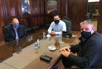 Autoridades de la FASiPeGyBio se reunieron con el Secretario de Energía