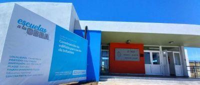 Inauguraron el Jardín 909 de Camet Norte