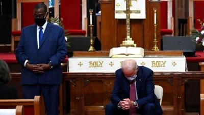Por segunda vez en su historia los Estados Unidos podría tener un presidente católico