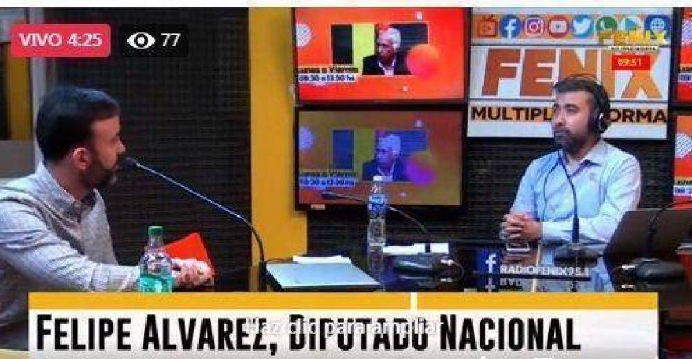 """Felipe Álvarez: """"El frente opositor está firme y consolidado"""""""