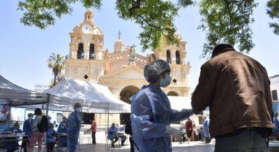 Córdoba, entre las siete provincias con más contagios de coronavirus
