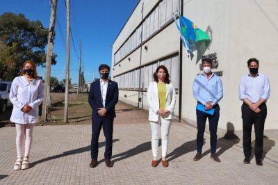 Kicillof inauguró las nuevas instalaciones de escuelas en Moreno