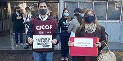 """CICOP denuncia incumplimientos en el pago de salarios: """"Nos están empujando a un paro"""""""