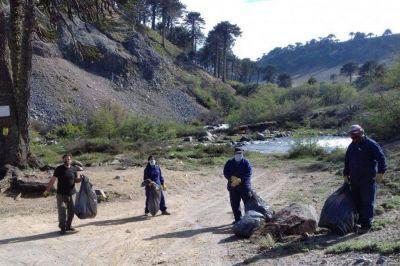 Inició el Operativo de Limpieza en el Río Litrán