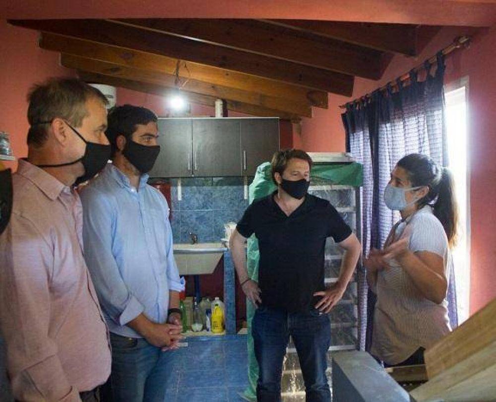 Monte: El Intendente Castro despues de un año comenzó a reunirse con importantes dirigentes de Vidal, como Fernandez y Campbell