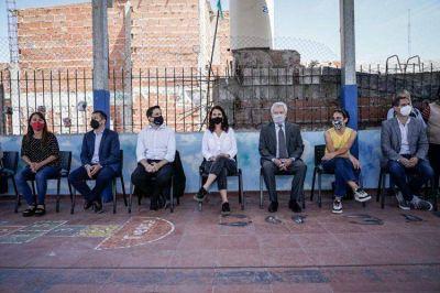 Nación y legisladores del FdT: programa de promotoras educativas en el barrio Mugica