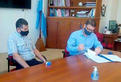 Firman el contrato de terminación del JIN Nº 25 de Winifreda