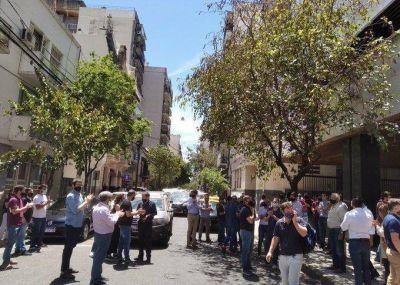 Protesta de acreedores de Vicentin contra la pesificación de sus créditos
