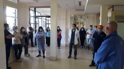 Masiva jornada de protesta y asambleas de trabajadores de la salud