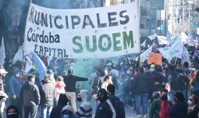 El fiscal ordenó la detención de los involucrados en estos hechos delictivos en la marcha del Suoem