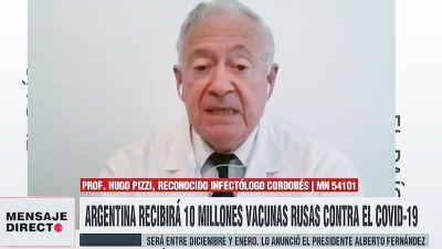 El asesor de Schiaretti, sobre la vacuna rusa:
