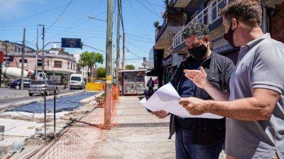 Vicente López pone en marcha el plan de asfaltado y bacheo