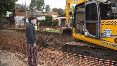 San Isidro: Más pavimentos renovados en Villa Adelina y Boulogne